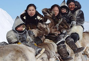 an Inuit Family
