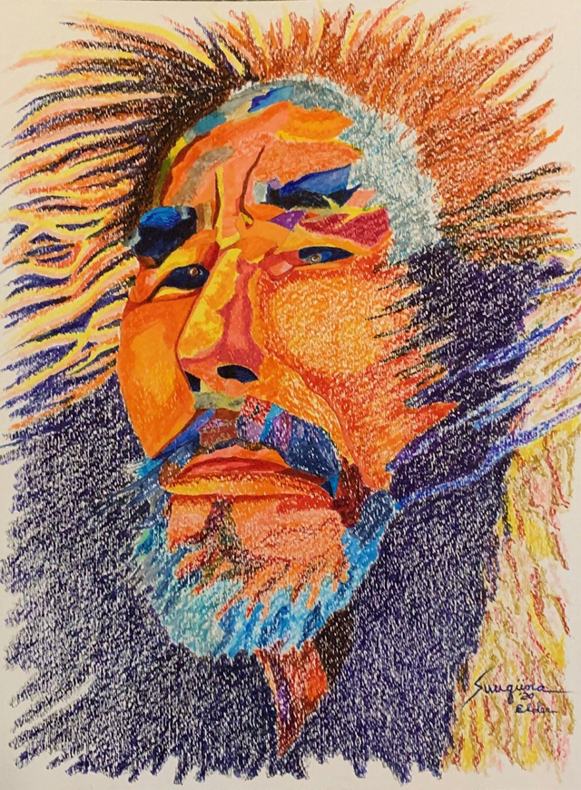 watercolor: Elder