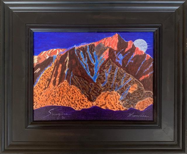 watercolor: Moonrise