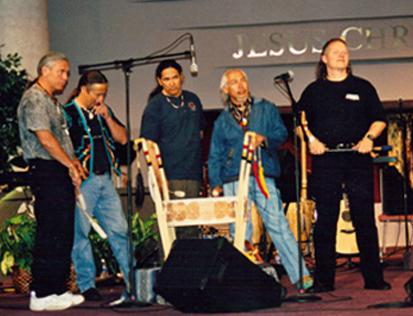 Ken Gilbert, Richard Nunez, Deputy Grand Chief Kenny Blacksmith, Suuqiina, Jonathan Maracle