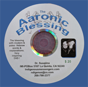 The Aaronic Blessing DVD cover