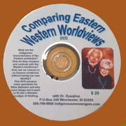 Comparing Eastern Western Worldviews DVD cover