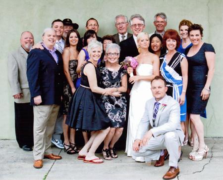 Kelly and Daniel's wedding