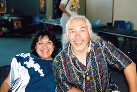 Grand Chief Lynda Prince and Suuqiina