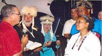 Ordination Ceremony in Williamsburg, Virginia