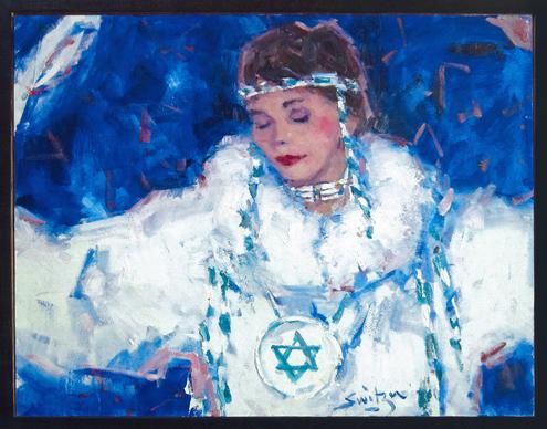 Qaumaniq - painting by Scott Switzer