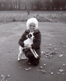 Qaum and dog