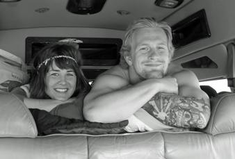 Rob with Brittani