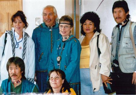 Suuqiina and Qaumaniq with 5 others