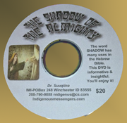 The Shadow of the Almighty DVD cover