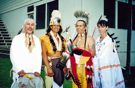 Suuqiina, Fiji Warrior,  Richard and Kimberly Nunez