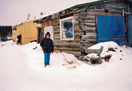 Suuqiina log cabin