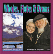 Whales, Flutes and Drums CD