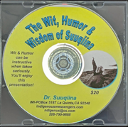 The Wit, Humor, & Wisdom of Suuqiina DVD cover