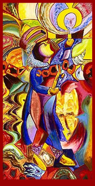 Suuqiina painting